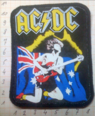 Angus ACDC Patch
