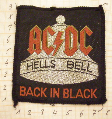 Hells Bells Patch ACDC